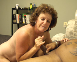mature wife sucking black dick